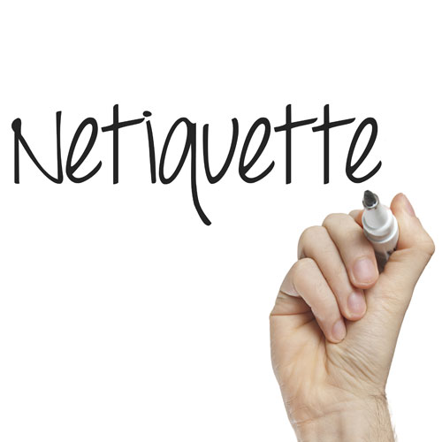 La netiquette : le bon comportement sur Internet