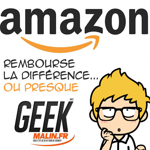 amazon rembourse la difference