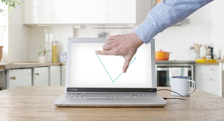 transformez votre ordinateur portable ordinaire en un appareil cran tactile. Black Bedroom Furniture Sets. Home Design Ideas