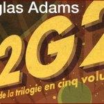 Le Guide du voyageur galactique : la trilogie en 5 tomes de Douglas Adams et un de Eoin Colfer