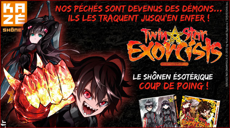 Twin Star Exorcists – Les Onmyôji Suprêmes