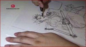 Vidéos montrant les mangakas dessinant leurs personnages favoris !