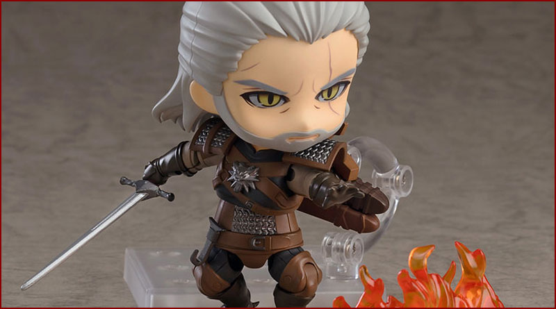 Nendoroid - Geralt (The Witcher 3 Wild Hunt)