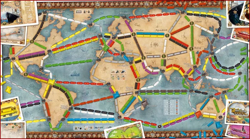 Ticket to Ride : Les Aventuriers du rail