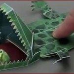 Les jouets intéractifs en papier d'Haruki Nakamura