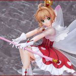 WINGS inc. - Sakura Kinomoto Rocket Beat Ver. 1/7 Complete Figure (Cardcaptor Sakura: Clear Card)