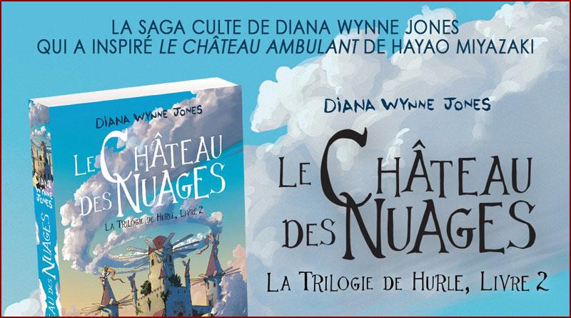 Le Château des nuages, la trilogie de Hurle 2 de Diana Wynne Jones