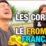 Des Coréens goûtent des fromages français