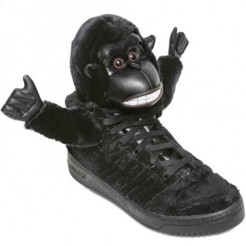 ADIDAS ORIGINALS Jeremy scott gorilla sneakers