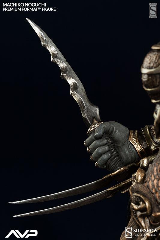 Shoulder Mounted Knives