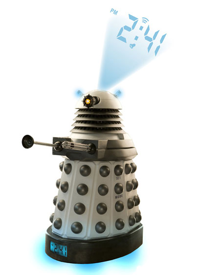 Dalek Digital Projection Alarm Clock