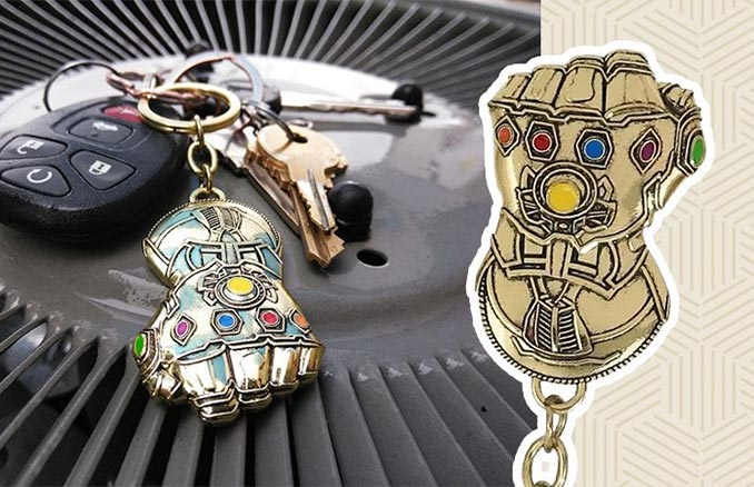 Free Infinity Gauntlet Keychain Deal At SuperHeroStuff