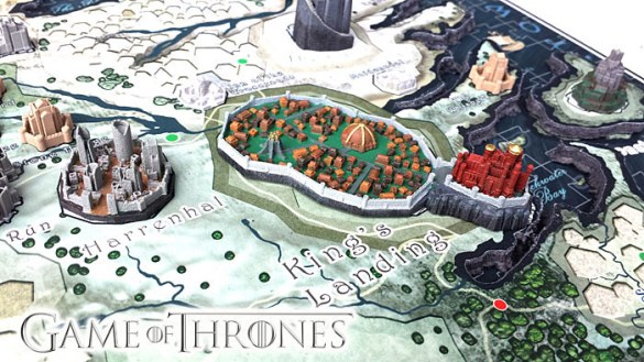 Game of Thrones 3D Map of Westeros Puzzle