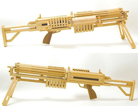 Gun Gatling Band Rubber