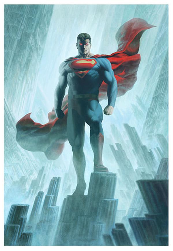 Art Justice League Superman Concept