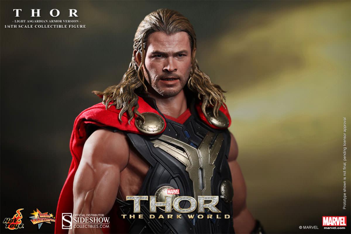 Thor Asgardian Light Armor Sixth Scale Figure