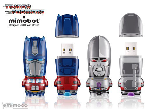 Transformers Mimobot Flash Drives