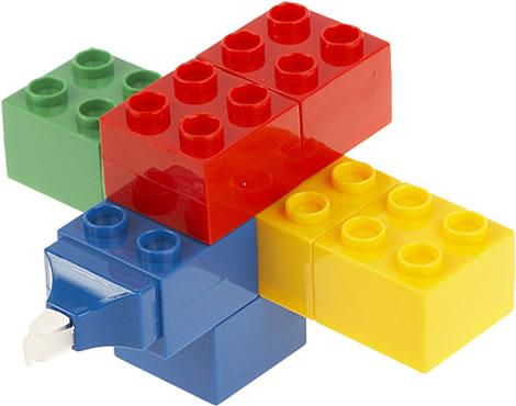 LEGO-Style Correction Tape