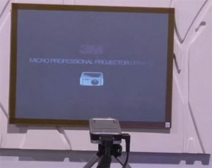 3M Shows off their PICO Projector