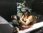 Jill in the Virtual Immersion Lab
