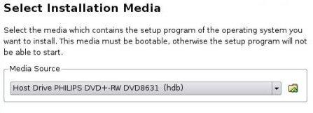 VB Select Boot Device