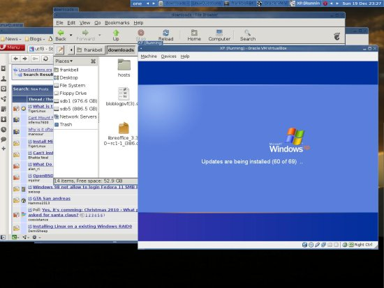 Windows XP Shutdown Virtual Box Debian Lenny
