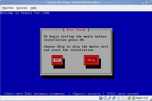 Disk Check Dialog