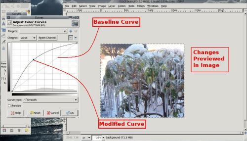 Color Curves Tool