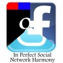 Perfect Social Network Harmony - Google, Facebook, Twitter