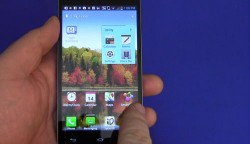 LG Optimus G Android Screen