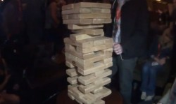 Giant Jenga Game and YappEm Mash Bash