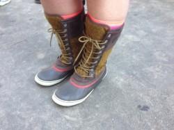 Zane Aveton's Rain Boots