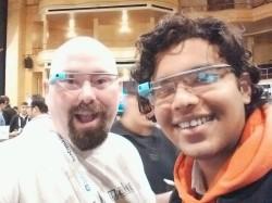 #TeamSky Selfie at TechCrunch Disrupt