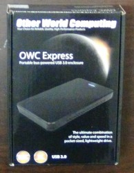 OWC Express USB Enclosure