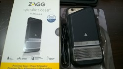 ZAGG Speaker Case, Phone Charger for iPhone 6