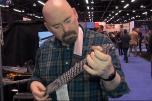 Playing the Gittler Guitar