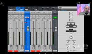 QSC Touchmix Android App on Windows.