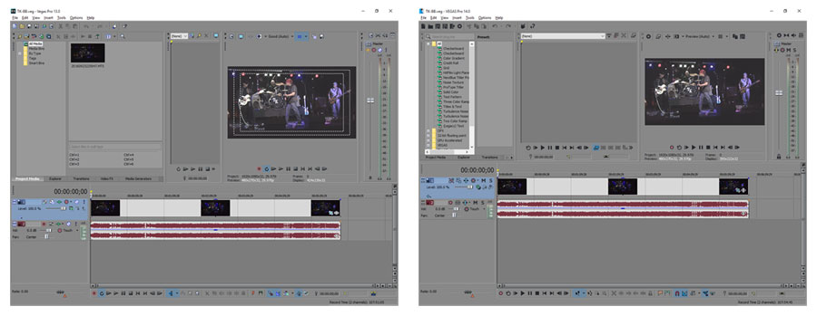 how to make edits on sony vegas pro 14