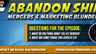 Photo of Abandon Ship!, Entertainment Mergers, Marketing Blunders & Listener Feedback