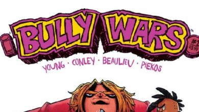 Photo of Skottie Young and Aaron Conley's Bully Wars Rules the School this September