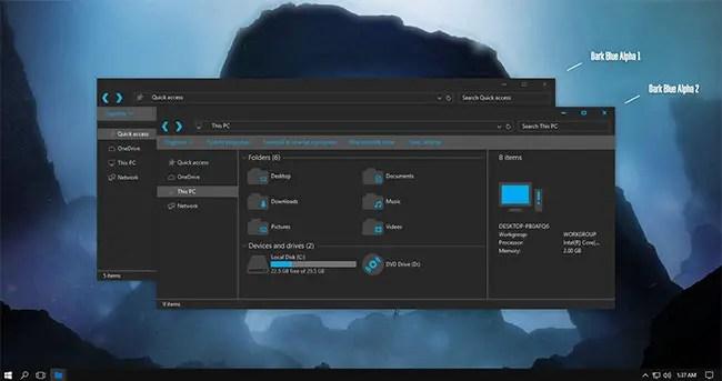 windows 10 custom themes - Ronni kaptanband co