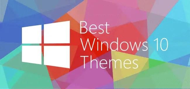 16+ Best Windows 10 Custom Themes [2018 Edition]