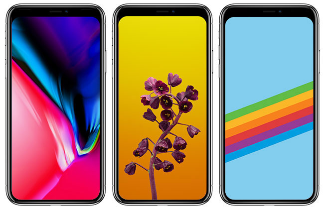While you could easily create your own no-notch wallpapers using a basic image editing software, we decided to save you the trouble, at least for the iPhone ...