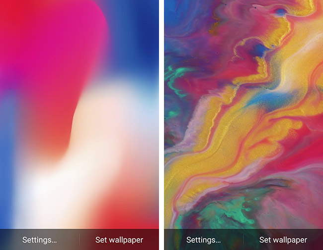 Download Install Iphone X Live Wallpapers On Android