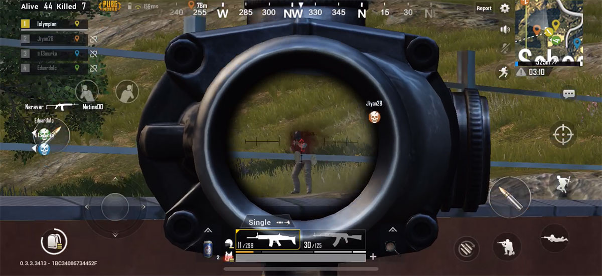 Pubg Sniper Wallpaper Engine: PUBG Mobile: Improve Your Aim With Touch-Screen Controls