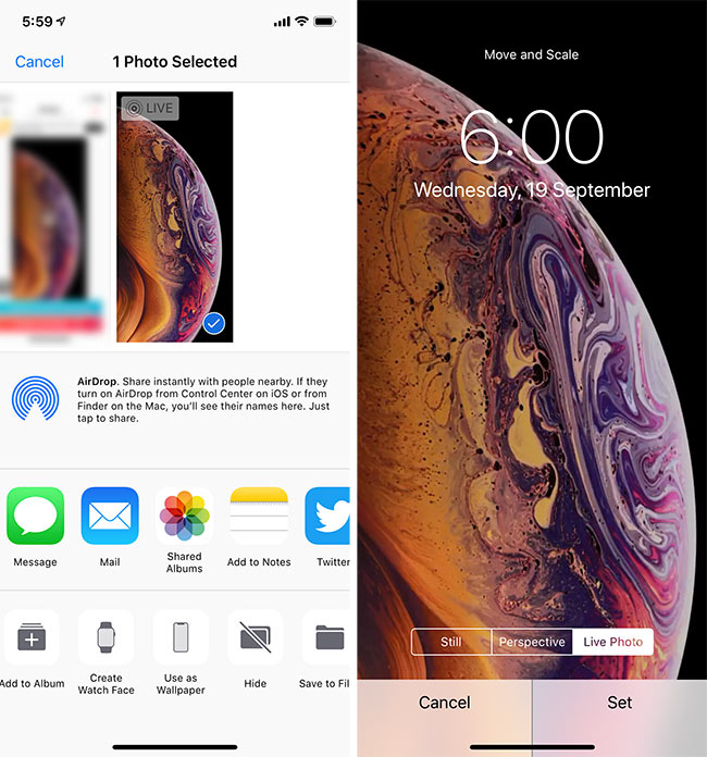 Download IPhone XS, XS Max Live Wallpapers On Your Older