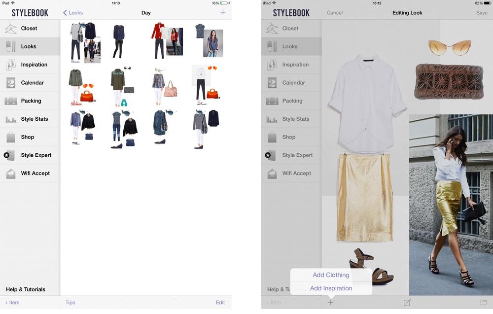 Stylebook: crea look