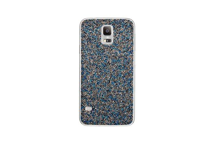 Se lei è una vera geek chic, aiutala a personalizzare i suoi gadget: Cover Swarovski per Samsung Galaxy S5