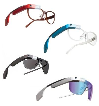 Google si è alleato con Diane Von Furstenberg per rendere desiderabili i Google Glasses: la collezione è stata venduta su Net-a-Porter dal 23 giugno 2014. La prossima collezione sarà di Luxottica.