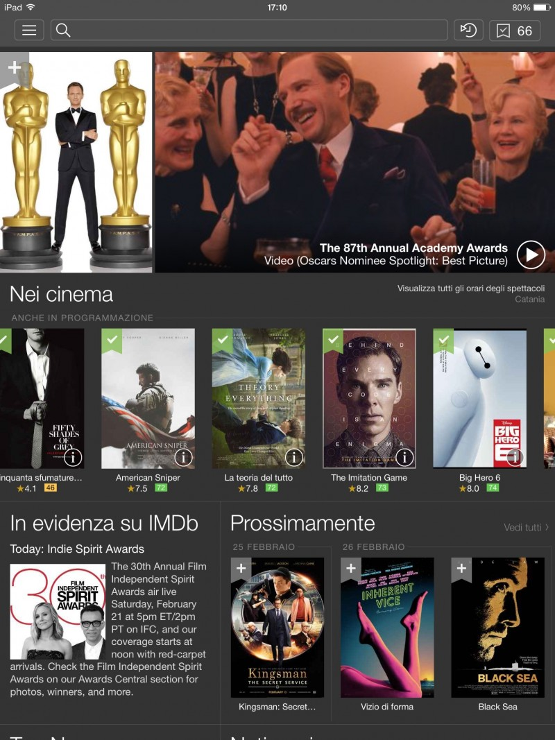 iMdb per iPad